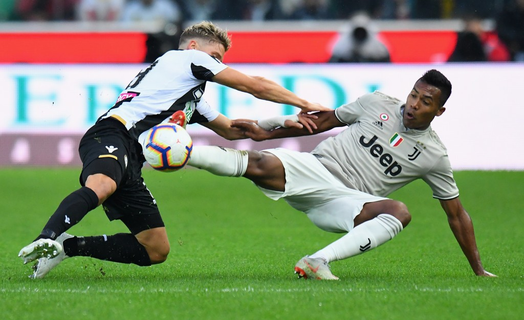 Alex Sandro was excellent for Juventus in their win at Udinese