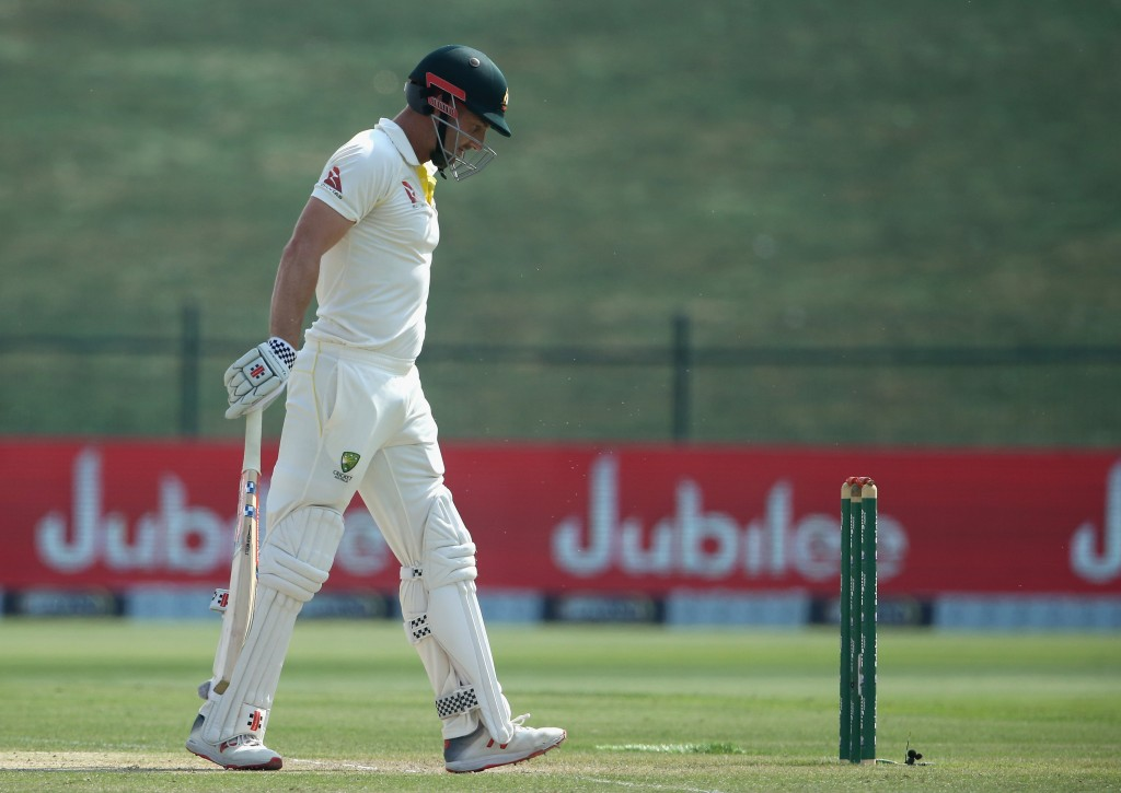 Shaun Marsh was horribly out of form in the Test series.