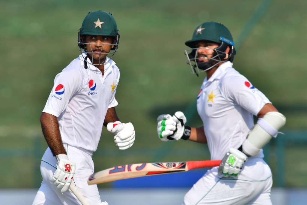 Azhar Ali was run-out in comical fashion in the second innings.