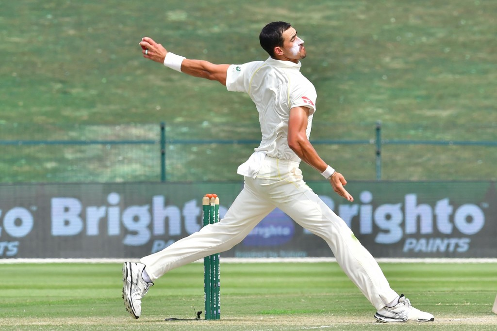 Starc played through the discomfort in Abu Dhabi.