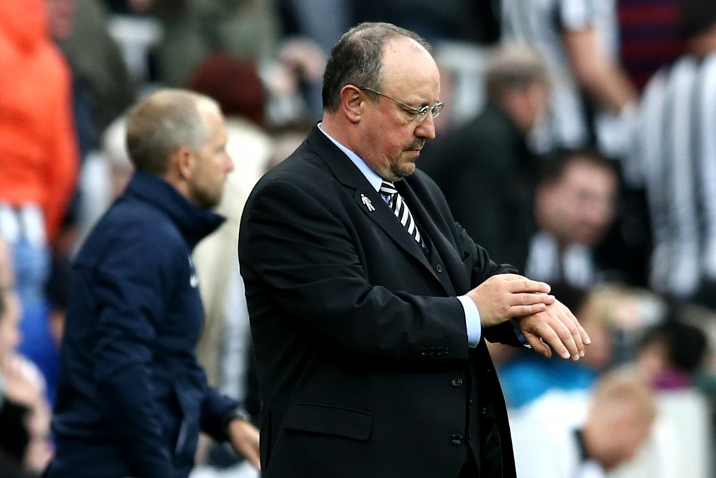 Time running out for Benitez and Newcastle.