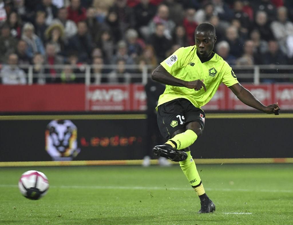 Lille's Ivorian forward Nicolas Pepe