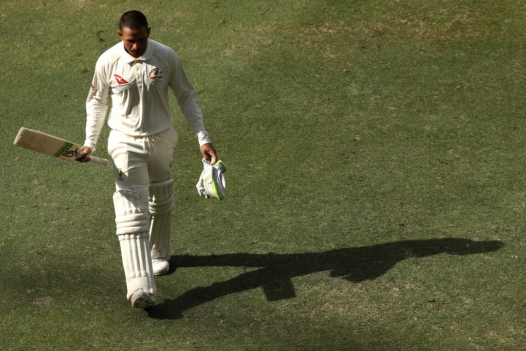 A mighty fine effort from Khawaja.