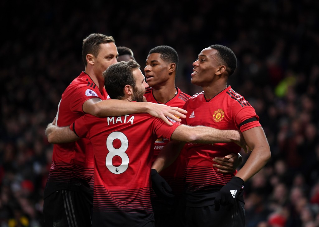 Manchester United picked up an important win at home to Everton