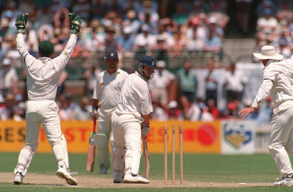 Warne replaces Mike Gatting, the man he famously bowled.