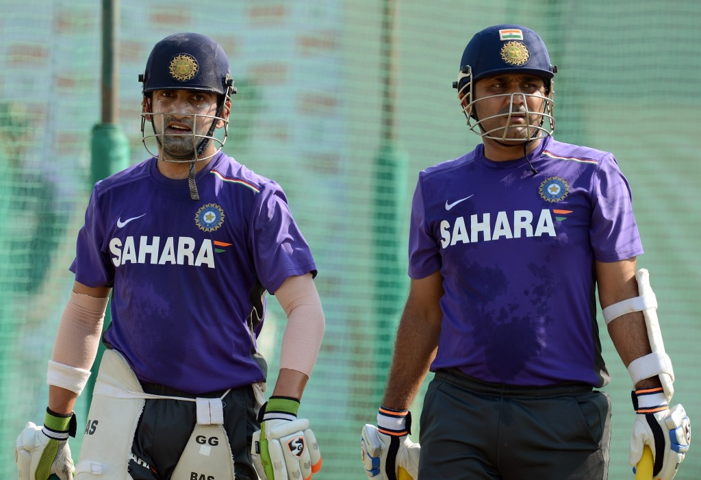 Gambhir and Sehwag formed a formidable opening partnership.