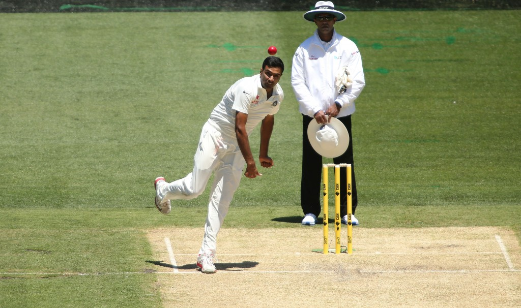 Lyon has been observing footage of Ashwin and other spinners.