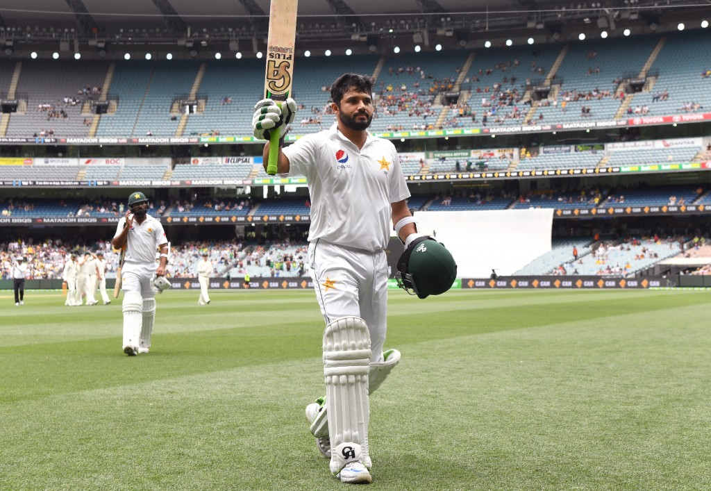 Azhar Ali registered a double ton in Melbourne in 2016.