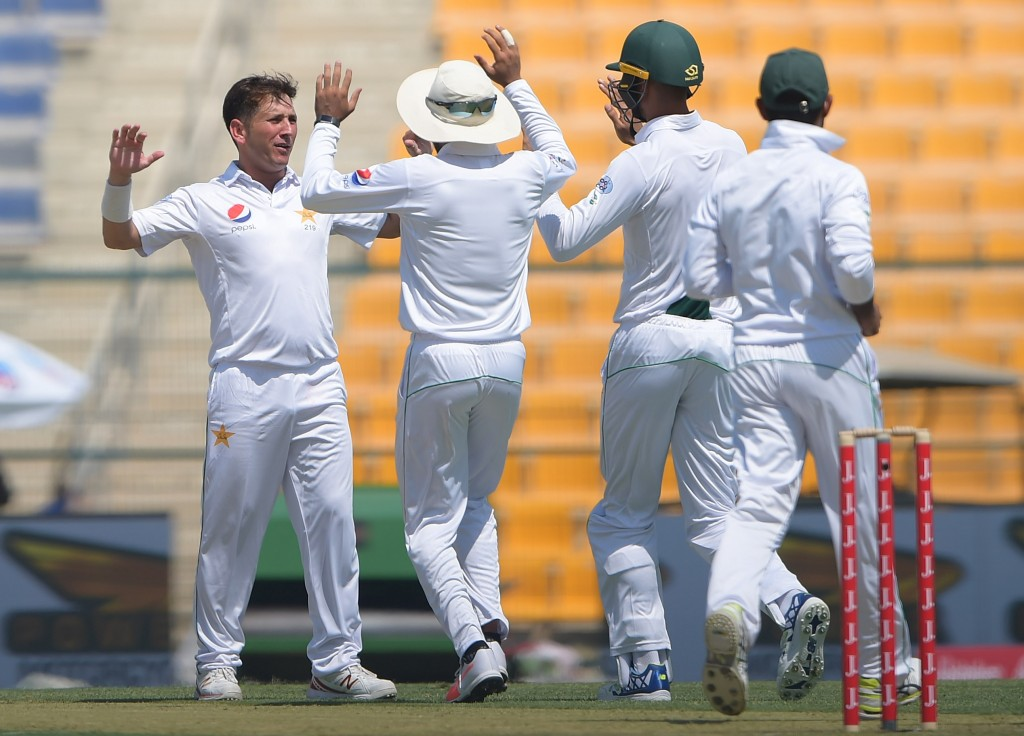 Yasir Shah will lead Pakistan's spin attack against the Aussies.
