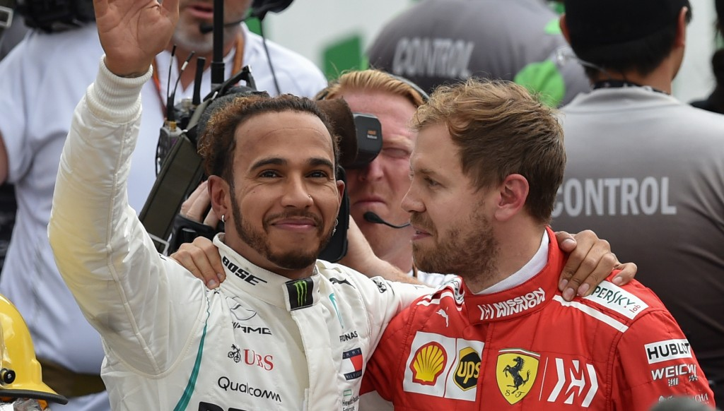 Sebastian Vettel was gracious in defeat.