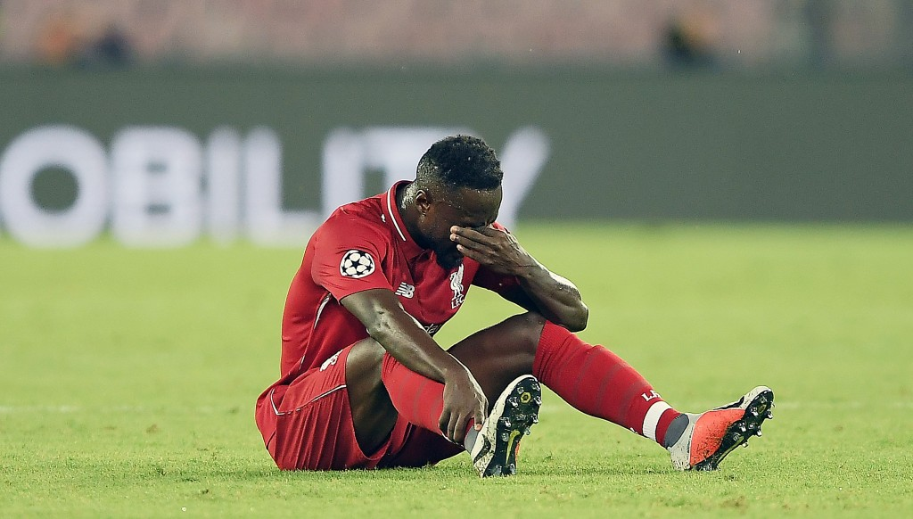 Naby Keita's early injury was a blow for the away side.