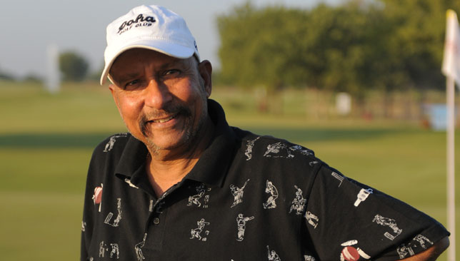 Former Indian wicketkeeper and selector Syed Kirmani.