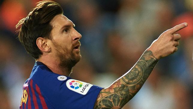 Footballing superstar: Lionel Messi.