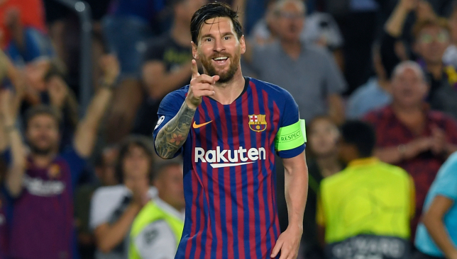 Maestro: Lionel Messi.