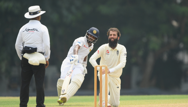 Moeen was the lone bright spark for England.