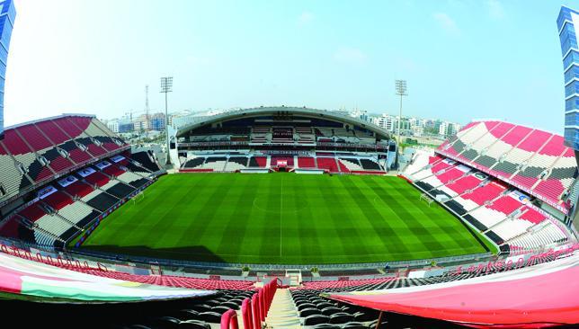 First class: Mohammed bin Zayed Stadium