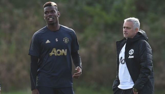 Jose Mourinho and Paul Pogba rarely saw eye to eye.