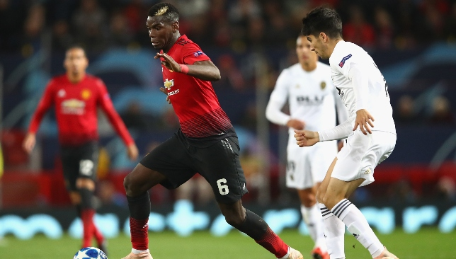Paul Pogba's woes as well as his club's continued on Tuesday.