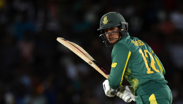 Quinton de Kock will turn out for Mumbai Indians in the 2019 edition.