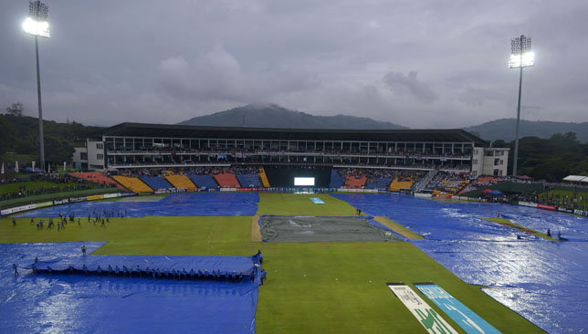 Rain reduced the third ODI in Pallekele to a 21-over match.