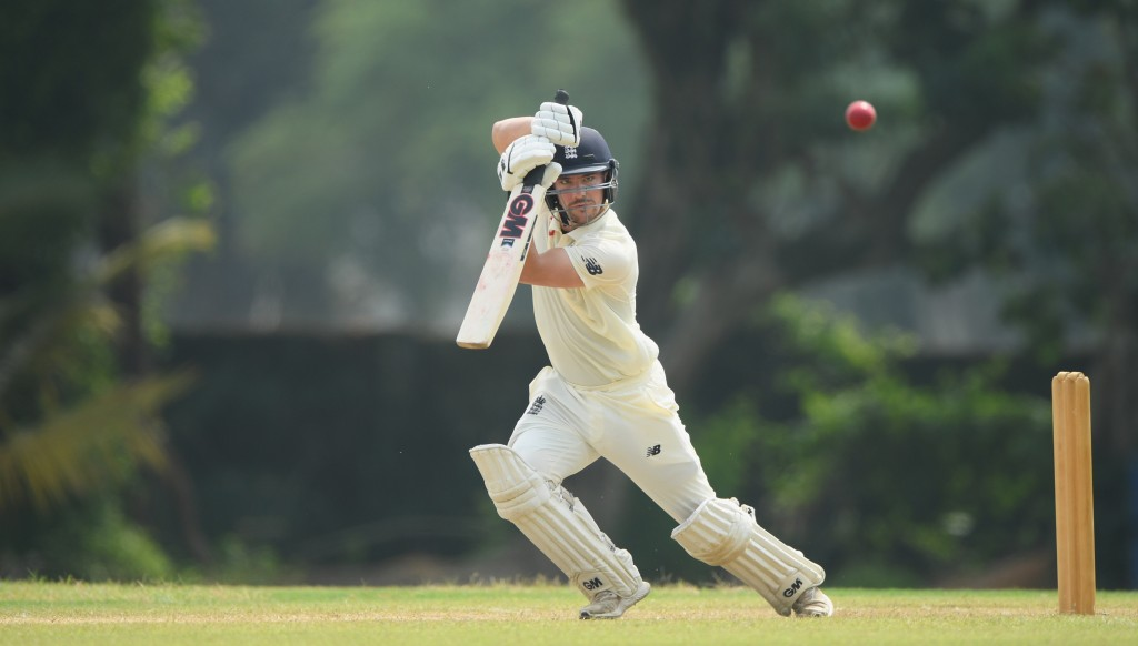 Rory Burns impressed during day two of the two day warm up match between a Sri Lanka Board Presidents XI and England.
