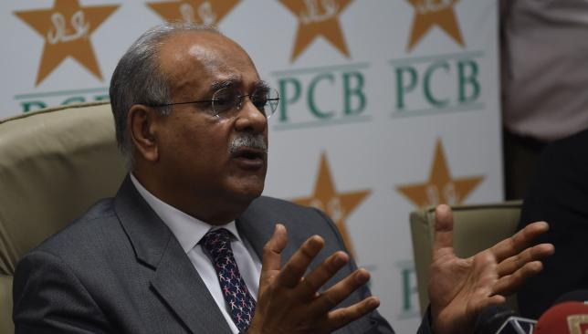 Former PCB chairman Najam Sethi.