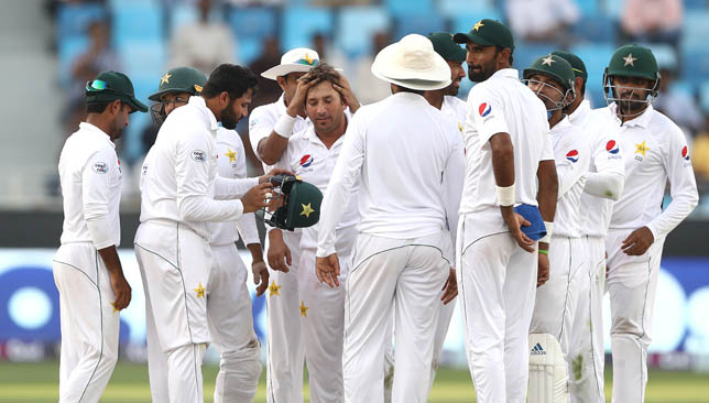 Yasir Shah took four wickets on the final day