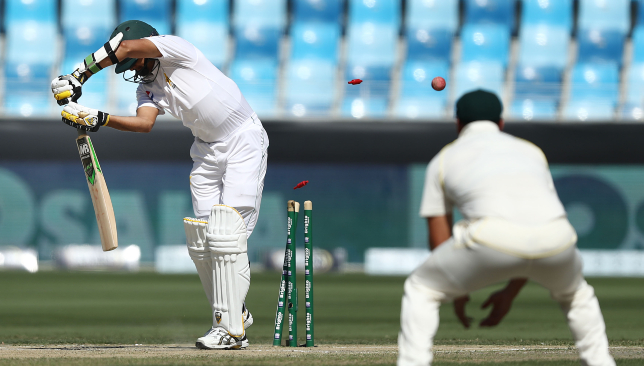 Mohammad Abbas fell for one to Peter Siddle.