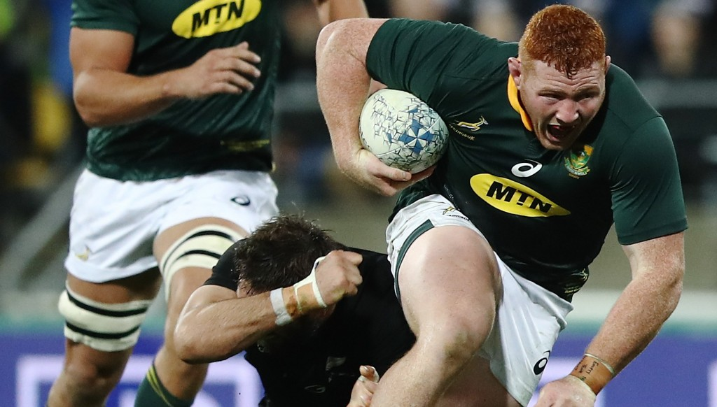Steven Kitshoff was outstanding against the All Blacks
