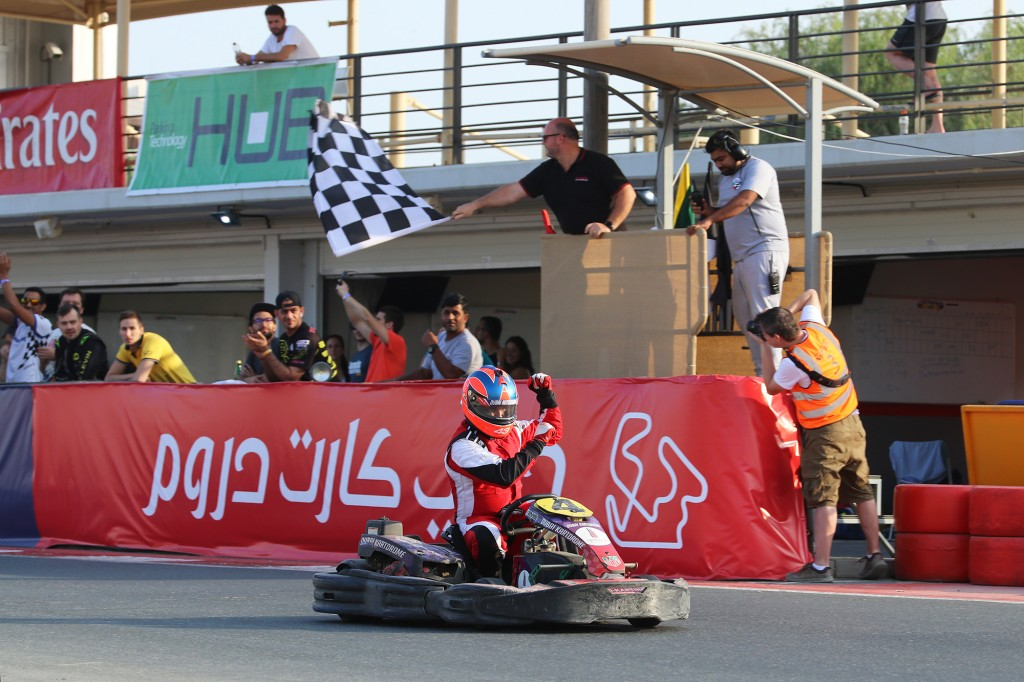 Sweet victory for Bin Drai Karting Team at Dubai Kartdrome