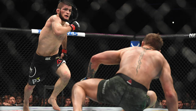 Khabib Nurmagomedov beat Conor McGregor earlier this month