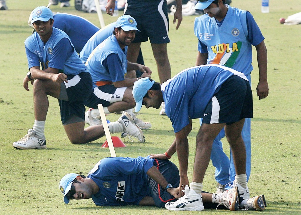 Yuvraj Singh got injured in Mohali during the 2006 Champions Trophy.