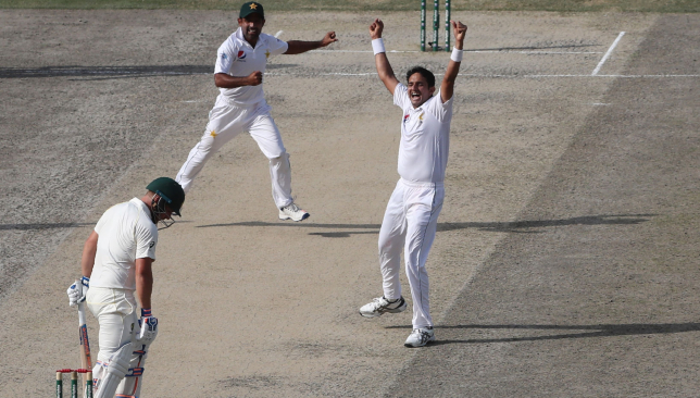 Abbas picked up three wickets in the span of seven balls.
