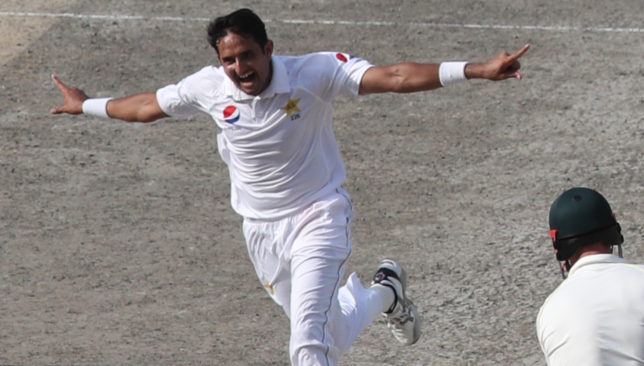 Abbas took three wickets in Dubai on Wednesday.