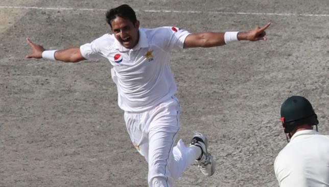 Abbas took three wickets in Dubai on Wednesday.