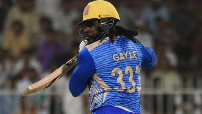 Gayle scored his fourth straight fifty. Image: APL/Twitter.