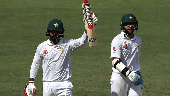 Hafeez (l) and Imam toyed with Australia's bowling.