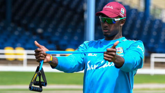 Defiant in the wake of criticism: Jason Holder.