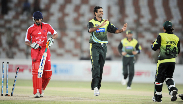 Irfan Ahmed (l) is among the three players suspended by the ICC.