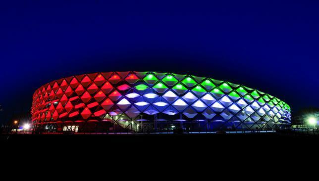 World-class: Al Ain's Hazza Bin Zayes Stadium