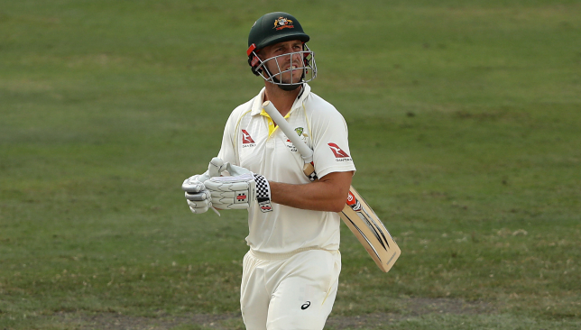 Mitch Marsh had a poor Dubai Test.
