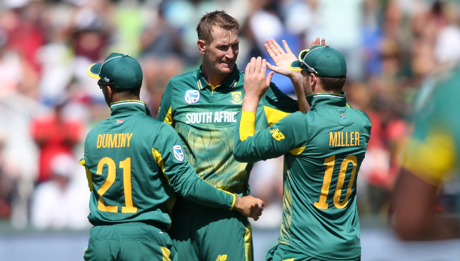 Chris Morris is back in South Africa's ODI squad.