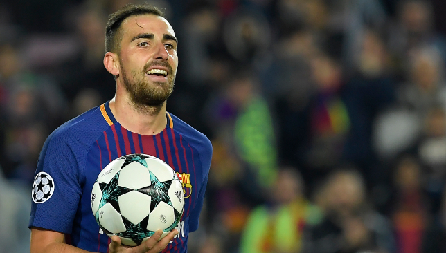 Alcacer left Barcelona in the summer to join Dortmund on loan.