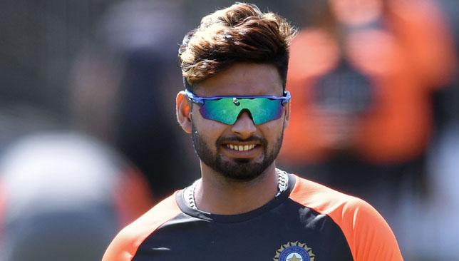 India's Rishabh Pant.