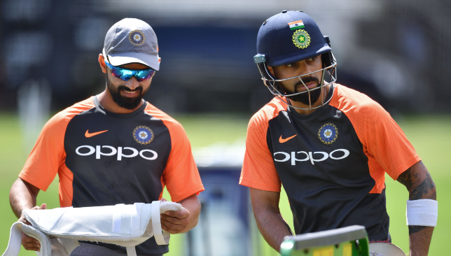 Ajinkya Rahane (l) will be keen to make amends for the England tour.