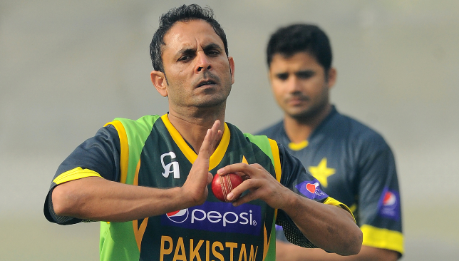 Pakistan left-arm spinner Abdur Rehman.