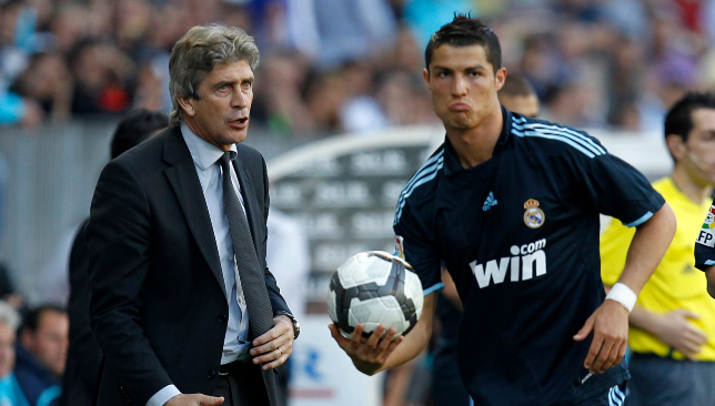 Pellgrini is surprised Ronaldo was allowed to leave Madrid.