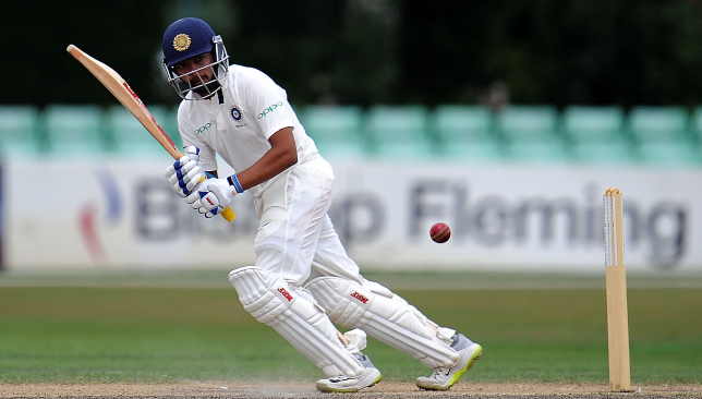 Shaw registered a ton on his Test debut for India.