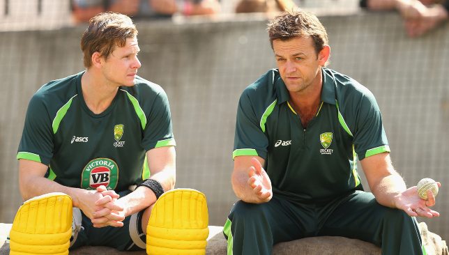 Gilchrist (r) is backing Smith to redeem himself.