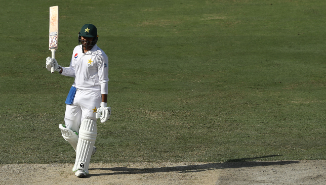 A maiden Test hundred to savour for Haris Sohail.